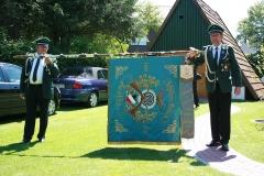 Fahne Schutzenverein 1912 Rückseite