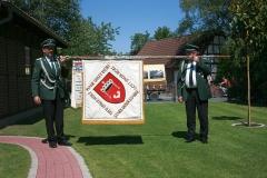 Fahne Schutzenverein 1973 Rückseite